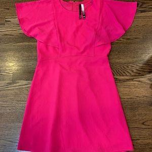 Kensie Bright Pink Dress- Medium